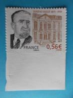 TIMBRE : AUTOADHESIF , No : 369 A, Eugéne Vaille ,Contour Droit Du Visage Absent , XX En Trés Bon état - France