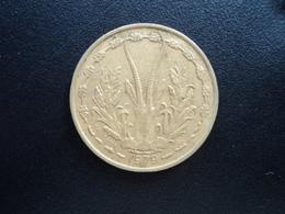 ÉTATS DE L'AFRIQUE DE L'OUEST : 25 FRANCS  1979   KM 5   TTB+ - Monnaies
