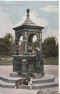 London Postcard - Fountain - Vauxhall Park - Ref ND836 - Otros