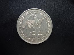 ÉTATS DE L'AFRIQUE DE L'OUEST : 100 FRANCS  1967   KM 4   SUP - Monnaies