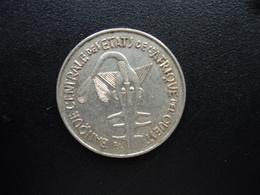 ÉTATS DE L'AFRIQUE DE L'OUEST : 100 FRANCS  1968   KM 4   SUP - Monnaies