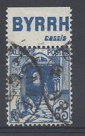 ALGERIE N° 137a Avec BANDE PUB BYRRH Cassis  - Oblitéré - Algérie (1924-1962)