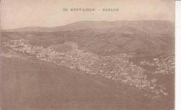 LIBANO. 28. MONT LIBAN-ZAHLEH. MICHEL L CORM & CIE. VOYAGEE.-TBE-BLEUP - Libanon