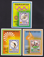 HAUTE-VOLTA BLOC N°    5A à 5C ** MNH Neufs Sans Charnière, TB (CLR294) Sports, Jeux Olympiques De Munich - Obervolta (1958-1984)
