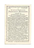 D 147. FRANCISCUS BESSEMANS - Voorzitter Kerkfabriek En Lid Armkomiteit Van Melveren - MELVEREN 1831 / 1893 - Devotion Images