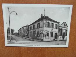 VILLETANEUSE  La Mairie,avenue De Pierrefitte.  Pacaud Mercerie éditeur   93 Seine Saint Denis - Villetaneuse
