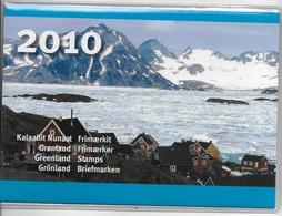 2010 MNH Greenland, Year Pack - Greenland