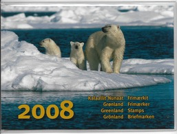2008 MNH Greenland, Year Pack - Greenland