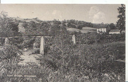 Yorkshire Postcard - Foot Bridge - Grosmont - Ref ND845 - York