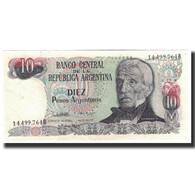 Billet, Argentine, 10 Pesos Argentinos, 1984, KM:313a, NEUF - Argentine