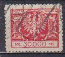 POLONIA  1924 AQUILA YVERT. 279 USATO VF - 1919-1939 Repubblica