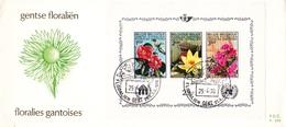 1523A 15235A NAT BL47 - P293 FDC   Floralies Gantoises IV 25-4-1970  Gent €3,5 - FDC