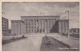 Postcard, Polen, Poland, Sosnowitz, Rathaus (pk45467) - Pologne