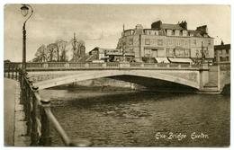 EXETER : EXE BRIDGE / POSTMARK - AVETON GIFFORD - Exeter