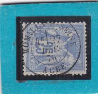 SAGE N° 79     CACHET A DATE  ROMILLY SUR SEINE / AUBE   27 DEC 1876 - REF 17150 - 1876-1898 Sage (Type II)