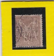 SAGE N° 80     CACHET A DATE   - REF 17150 - 1876-1898 Sage (Type II)