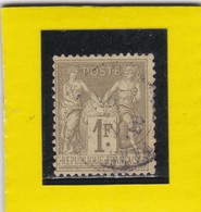 SAGE N° 82     CACHET A DATE   - REF 17150 - 1876-1898 Sage (Type II)