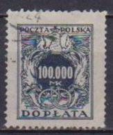 POLONIA  1923-24 SEGNATASSE YVERT. 55 USATO VF - Segnatasse