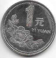 *china 1 Yuan 1996  Km 337  Xf+ - China