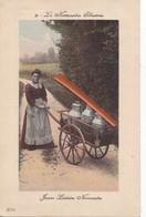 La Normandie Illustrée - Jeune Laitière Normande - Jolie Carte Colorée - Autres
