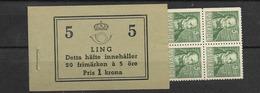 1939 MNH Booklet Mi 253, Sweden, Postfris - Boekjes