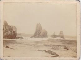 Foto Felsen Im Meer - Ca. 1900 - 12*9cm (34084) - Orte