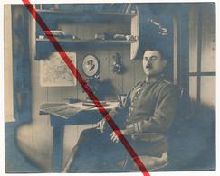 Original Foto - Thonne-les-Près - Offizier Theo Poehlmann - 1918 - I. Weltkrieg - Verdun