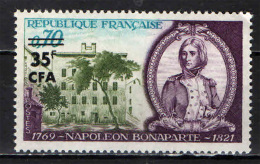 REUNION - 1969 - NAPOLEONE BUONAPARTE - MNH - Isola Di Rèunion (1852-1975)
