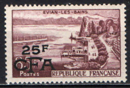 REUNION - 1957 - EVIAN LE BAINS - MNH - Isola Di Rèunion (1852-1975)