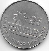 Cuba 25 Centavos 1981 Km 418.1 Xf - Cuba