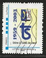 Timbre Personnalisé Usine à Tubr De Joeuf - Personalized Stamps (MonTimbraMoi)