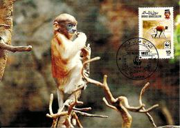 1991 - BRUNEI DARUSSALAM - Proboscis Monkey  Singe - Brunei
