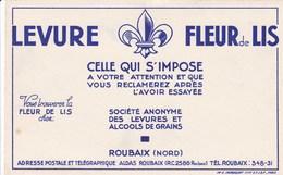 Buvard, Levure Fleur De Lis, Roubaix (pk45507) - Alimentaire