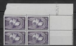 Coin Daté Mermoz N° 338 Du 30.3.1937 ** TTBE - Cote Y&T 2020 De 75 € - 1930-1939