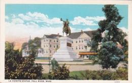 Massachusetts Fall River La Fayette Statue Curteich