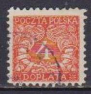 POLONIA  1919  SEGNATASSE YVERT. 14  USATO VF - Segnatasse
