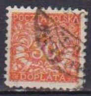 POLONIA  1919  SEGNATASSE YVERT.18  USATO VF - Segnatasse