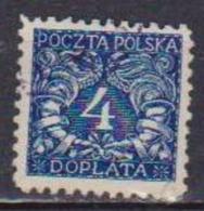 POLONIA  1919  SEGNATASSE YVERT.23  USATO VF - Segnatasse