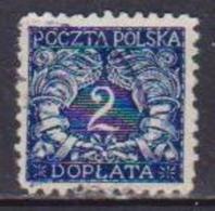 POLONIA  1919  SEGNATASSE YVERT.22  USATO VF - Segnatasse