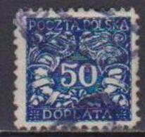 POLONIA  1919  SEGNATASSE YVERT.28  USATO VF - Segnatasse