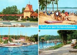 72653482 Bad Saarow-Pieskow Bahnhof Wendisch Rietz Badestrand Schwarzhorn Diensd - Bad Saarow
