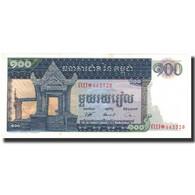 Billet, Cambodge, 100 Riels, 1962, KM:12b, NEUF - Cambodia
