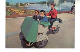 CP - Exposition Universelle De Bruxelles 1958 -  Cyclo-pousse  Baltour. - Universal Exhibitions
