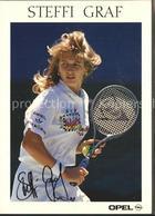 72133346 Tennis Steffi Graf Autogramm  Sport - Ansichtskarten