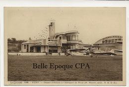 03 - VICHY - Départ D'Avions à L'Aéroport De Rhue - H. MAZON, Architecte +++ La Cigogne, Vichy, #528 +++ RARE - Vichy