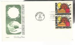 55768 ) USA Washington Postmark 1977 First Day FDC - Vereinigte Staaten