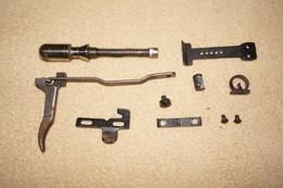 Parts For Single Shot Rifle / Pièces Détachées Carabine Monocoup   ++ Anschutz / JGA .22lr , 6mm Et 9mm Flobert ++ - Militaria