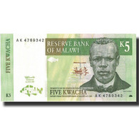 Billet, Malawi, 5 Kwacha, 1997, 1997-07-01, KM:36a, SPL+ - Malawi
