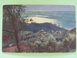 "United Kingdom 1911 Postcard """"Italia - Riviera Di Levante - Camogli"""" Sydenham To Kent - Georges V - Storia Postale"