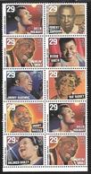 US  1994   Sc#2861a   29c Popular Singers Pane Of 10  MNH** - Etats-Unis